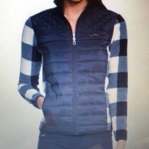 Lauren Ralph Lauren Quilted-Front Plaid Jacket
